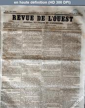 REVUE DE L'OUEST numéro 64 du 28 mai 1857
