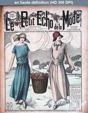 LE PETIT ECHO DE LA MODE  numéro 36 du 03 septembre 1922