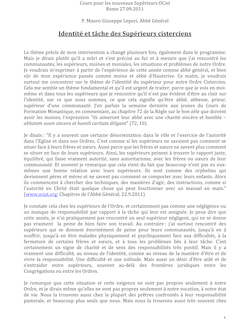 Corso Nuovi Superiori OCist – Roma 26