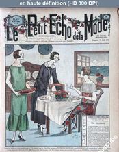 LE PETIT ECHO DE LA MODE  numéro 33 du 17 août 1924