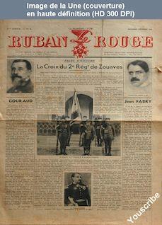 LE RUBAN ROUGE  numéro 6 du 01 novembre 1936