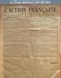 L' ACTION FRANCAISE  numéro 213 du 31 juillet 1916