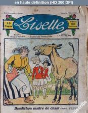 LISETTE numéro 134 du 03 février 1924