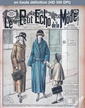 LE PETIT ECHO DE LA MODE  numéro 40 du 01 octobre 1922