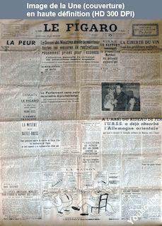 LE FIGARO  numéro 943 du 25 septembre 1947