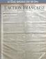 L' ACTION FRANCAISE  numéro 115 du 25 avril 1917