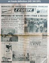 L' EQUIPE  numéro 3629 du 06 décembre 1957