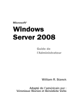 Guide de l'administrateur Windows Server 2008