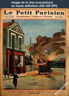 LE PETIT PARISIEN ILLUSTRE  numéro 1072 du 22 août 1909