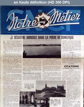 NOTRE METIER LA VIE DU RAIL numéro 55 du 19 avril 1946