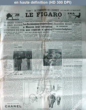 LE FIGARO  numéro 2833 du 19 octobre 1953