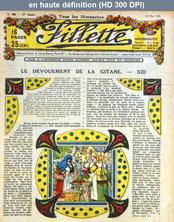 FILLETTE numéro 896 du 24 mai 1925