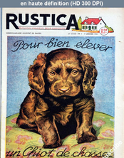 RUSTICA numéro 1 du 07 janvier 1951