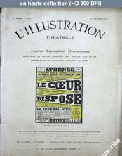 LA PETITE ILLUSTRATION THEATRE  numéro 222 du 26 octobre 1912