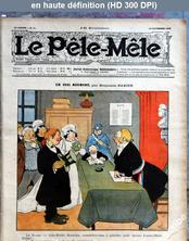 LE PELE MELE  numéro 51 du 23 décembre 1906