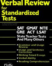 CliffsTestPrepTM Verbal Review for Standardized Tests