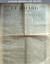 LE BRIARD  numéro 22 du 20 mars 1909