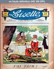 LISETTE numéro 47 du 24 novembre 1935