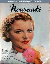 NOUVEAUTE numéro 2 du 16 janvier 1938