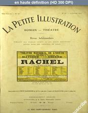 LA PETITE ILLUSTRATION THEATRE  numéro 47 du 24 janvier 1914