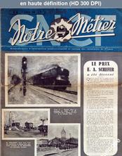 NOTRE METIER LA VIE DU RAIL numéro 45 du 01 février 1946