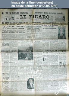 LE FIGARO  numéro 1693 du 17 février 1950