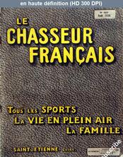 LE CHASSEUR FRANCAIS  numéro 557 du 01 août 1936