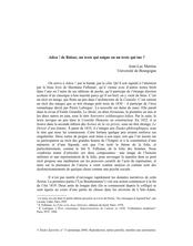 Adieu de Balzac, un texte qui soigne ou un texte qui tue