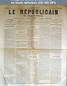 LE REPUBLICAIN DE SEINE ET MARNE  numéro 970 du 16 juin 1882