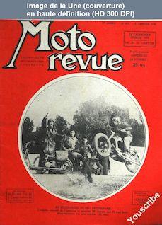 MOTO REVUE numéro 935 du 21 janvier 1949