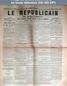 LE REPUBLICAIN DE SEINE ET MARNE  numéro 1385 du 18 mars 1885