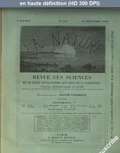 LA NATURE  numéro 380 du 11 septembre 1880