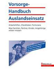 Vorsorge-Handbuch Auslandseinsatz