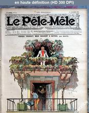 LE PELE MELE  numéro 41 du 14 octobre 1906