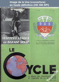 LE CYCLE  numéro 15 du 24 juin 1950