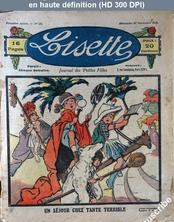 LISETTE numéro 20 du 27 novembre 1921