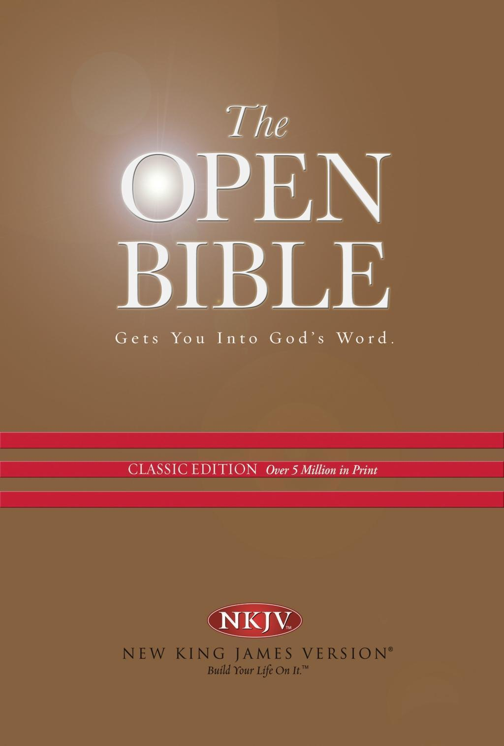 NKJV, Open Bible, eBook