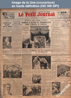 LE PETIT JOURNAL  numéro 26612 du 26 novembre 1935