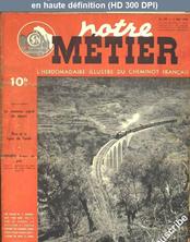 NOTRE METIER LA VIE DU RAIL numéro 149 du 03 mai 1948