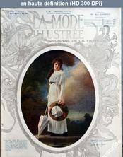 LA MODE ILLUSTREE  numéro 34 du 24 août 1913