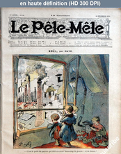 LE PELE MELE  numéro 52 du 24 décembre 1905