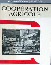 COOPERATION AGRICOLE numéro 62 du 01 mars 1959