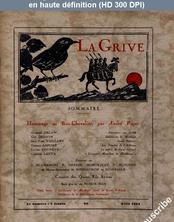 LA GRIVE  numéro 24 du 01 avril 1934