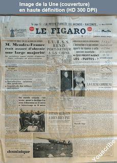 LE FIGARO  numéro 3140 du 13 octobre 1954