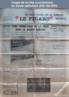LE FIGARO  numéro 3228 du 24 janvier 1955