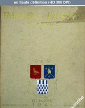 IMAGES DE FRANCE PLAISIR DE FRANCE numéro 81 du 01 octobre 1941
