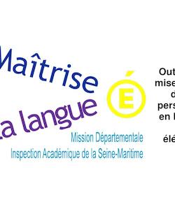 Outils pour la mise en oeuvre de l'aide personnalisée en français