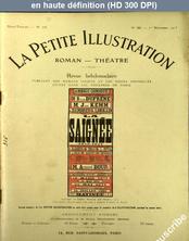 LA PETITE ILLUSTRATION THEATRE  numéro 36 du 01 novembre 1913