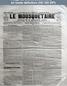 LE MOUSQUETAIRE  numéro 313 du 04 octobre 1854