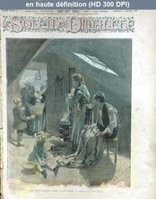 L' ILLUSTRE SOLEIL DU DIMANCHE  numéro 1 du 03 janvier 1892